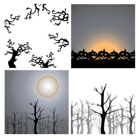 Background Design Elements - Halloween  Stock Vector - 15406128