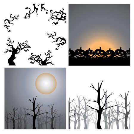 Background Design Elements - Halloween Stock Vector - 15406128