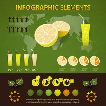set of infographic elements Stock Vector - 15425668