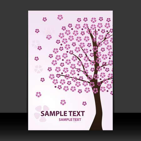 blossom time: Flyer or Cover Design - Springtime, Cherry blossoms