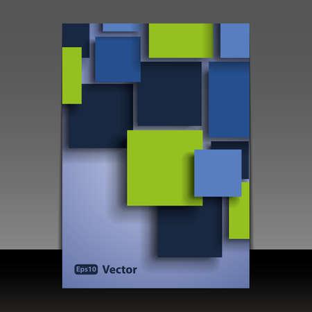 flyer background: Flyer of Cover Design Stock Illustratie