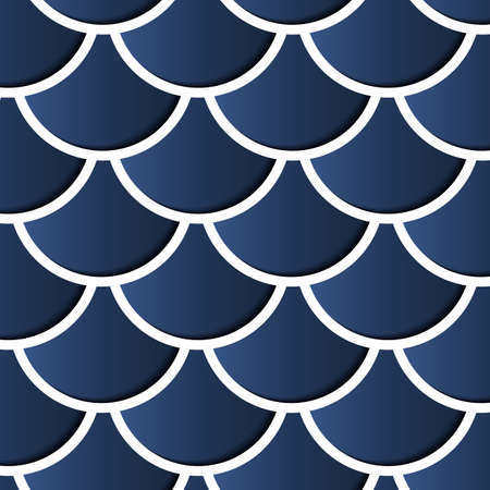 Abstract Background - Circles with drop shadows Vector