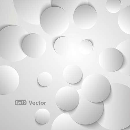 papier peint noir: Cercles avec des ombres port�es