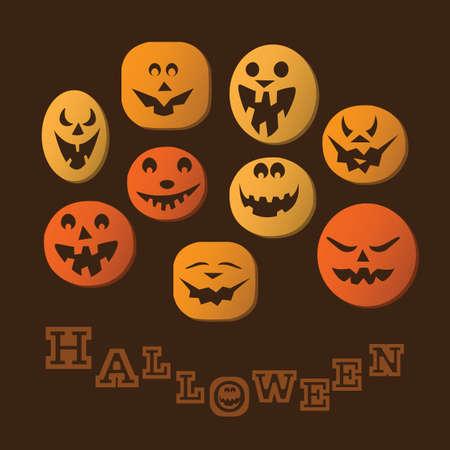 Halloween Background Stock Vector - 16083706