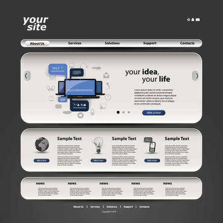 webpage: Sito Web Template