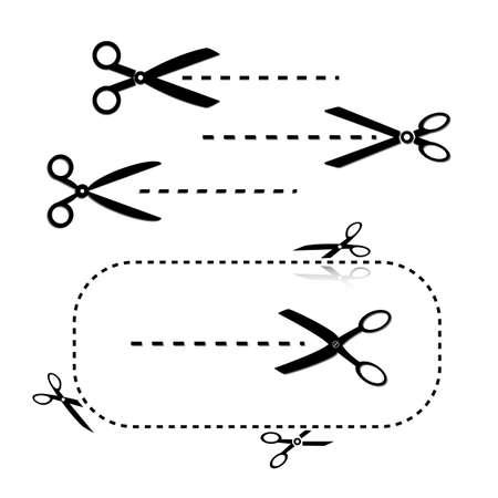 Scissors Templates Stock Vector - 16402521