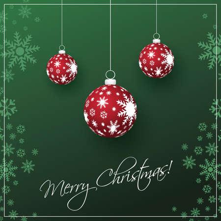 Christmas Card Background Stock Vector - 16757140