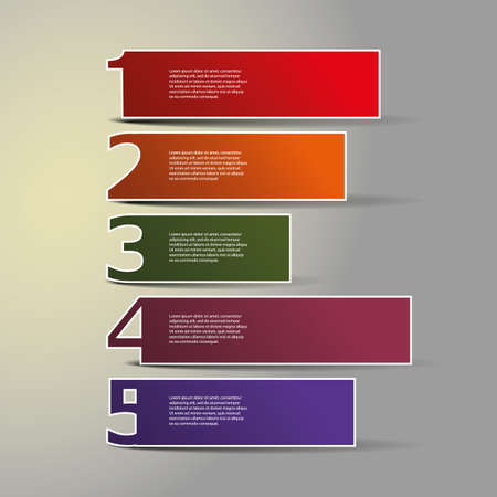5th: Header or Banner Designs - Numbers