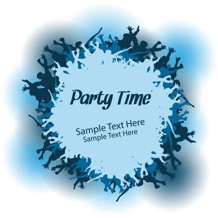 Party People Vector Design Vector