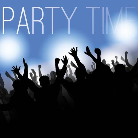 Flyer or Cover Design - Party Time Stock Vector - 16931776