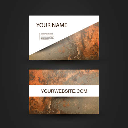 Business Card Template Stock Vector - 17016723