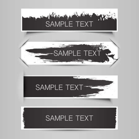 Tag, Label or Banner Designs  Vector
