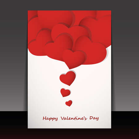 Valentines Day Card Stock Vector - 17623713