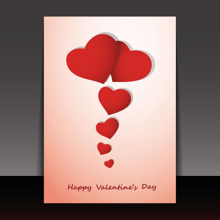 Valentines Day Card Stock Vector - 17490468