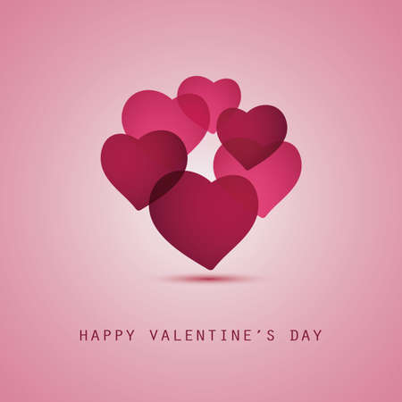 Valentines Day Card  Stock Vector - 17255695