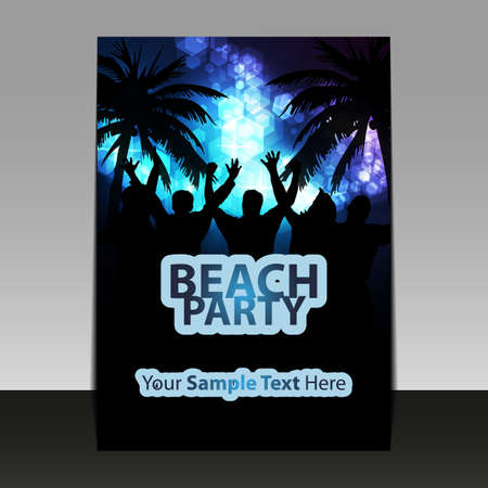 Party Time - Flyer or Cover Design Stock Vector - 17690050