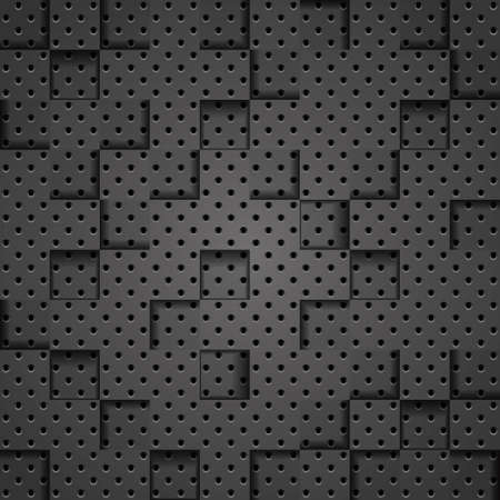 Abstract Metallic Mosaic Background Stock Vector - 18659645