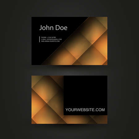 Business Card Template Stock Vector - 18618014
