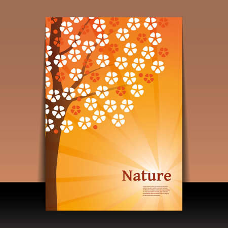 Nature - Flyer or Cover Design Vector