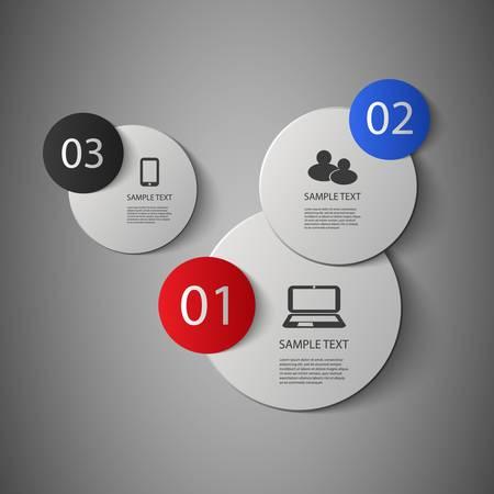 modern design: Infographics Cover Illustration