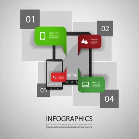 Infographic Design Stock Vector - 19528861