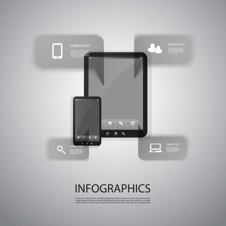 Info grapic Design Vector