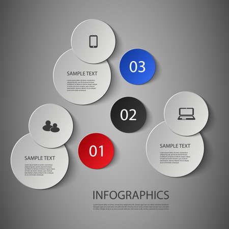 kreis: Infografik Design- Illustration