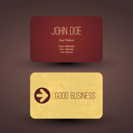 Business Card Template Stock Vector - 19869740