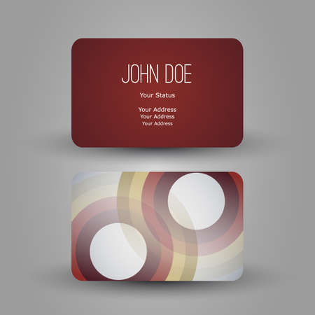 Business Card Stock Vector - 19872531