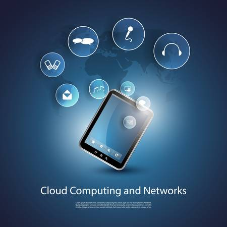 Cloud Computing Concept Stock Vector - 20230500