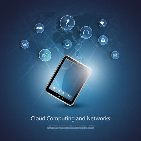 Cloud Computing Concept Stock Vector - 20002022