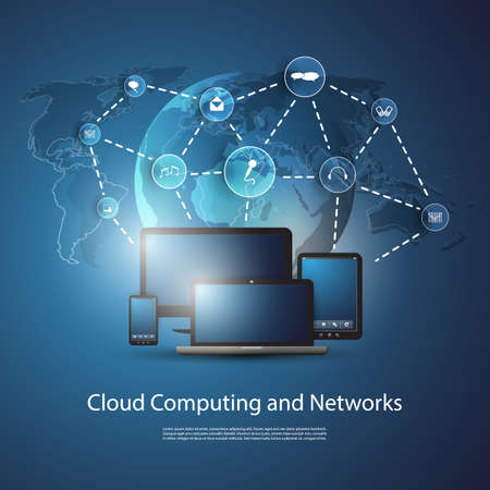 Cloud Computing Concept Stock Vector - 20562446
