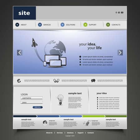 Sito Web Template