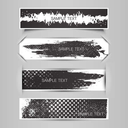 Blank Tag, Label or Banner Designs  Stock Vector - 20381747