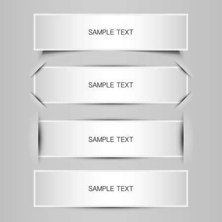 tricky: Blank Tag, Label or Banner Designs