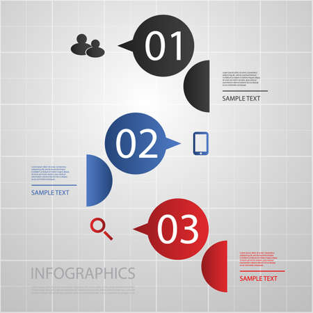 numbered: Infographic Design