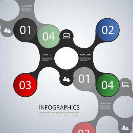 presentation template: Infographic Design