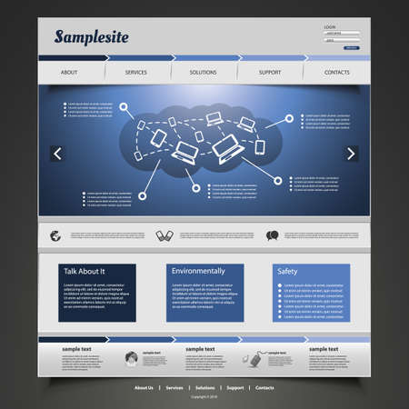 browse: Website Template