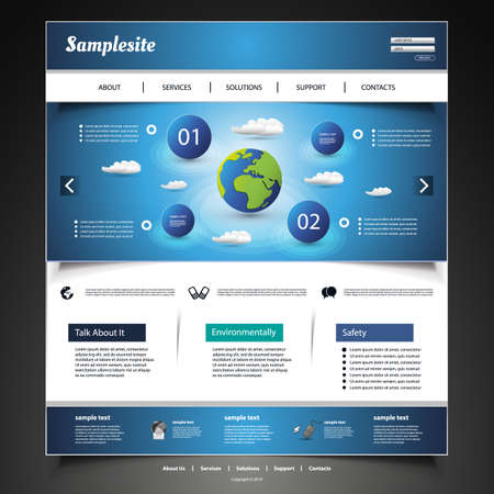 website template: Website Design