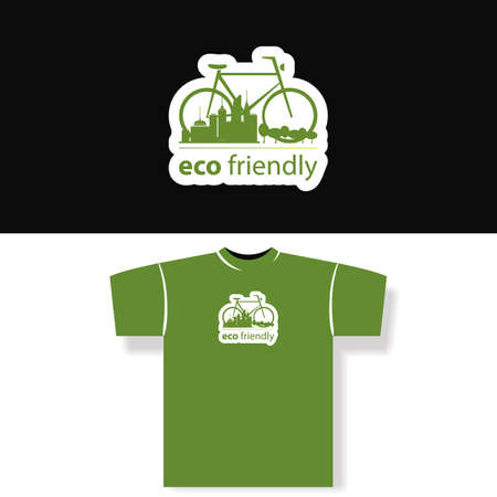 Eco Friendly - T-shirt Design Vector