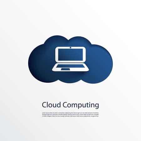 Cloud Computing Design Stock Vector - 21986815