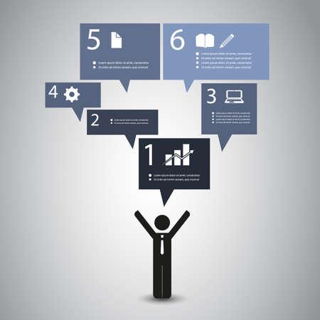 message bubble: Infographic Design