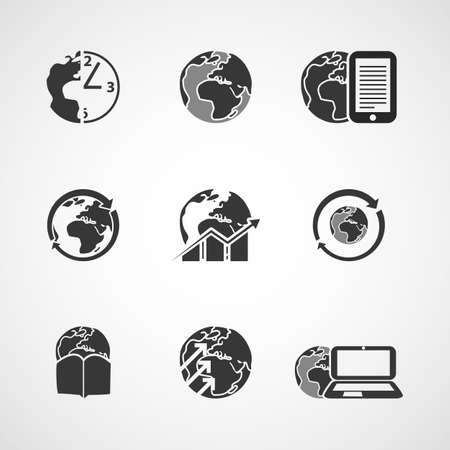Icon Set - Business and Everyday Life Vector