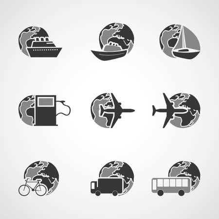 tallship: Transportation Icons