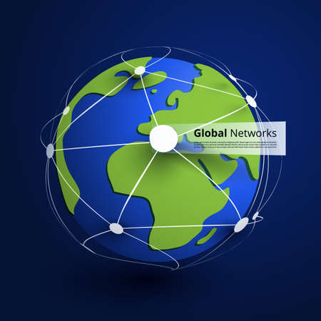 Global Networks Vector