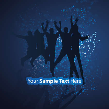 Party People Illustration Vector