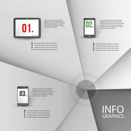 modern illustrations: Infographic Design