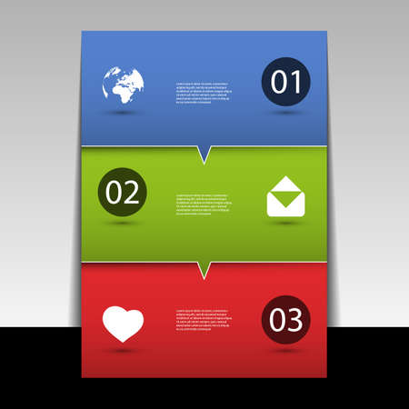Infographic Design - Flyer or Cover  Vector