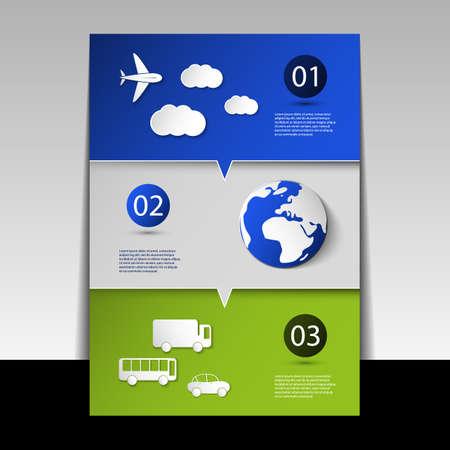 public folder: Infographic Design - Flyer or Cover Illustration
