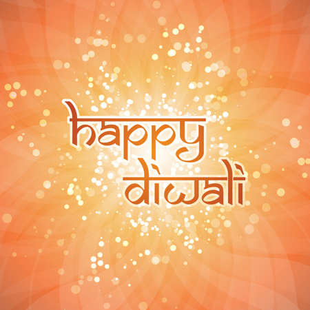 Happy Diwali Card  Vector